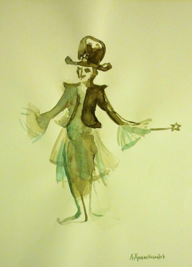 Μακέτα κοστουμιού -Μαγικό ανθρωπάκι-ΤΟ ΘΑΥΜΑΣΤΟ ΤΑΞΙΔΙ ΤΟΥ ΝΙΛΣ ΧΟΛΓΚΕΡΣΟΝ