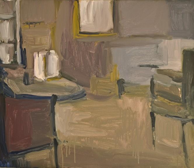 Καθρέφτης της σιγής, 60Χ70,Ακρυλικά